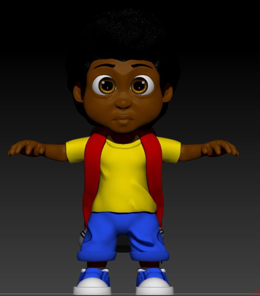 Jeffery in 3D